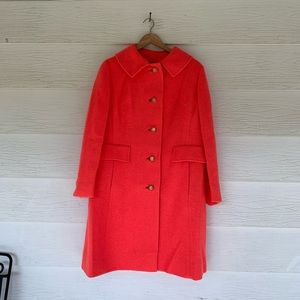Vintage coral dressy coat
